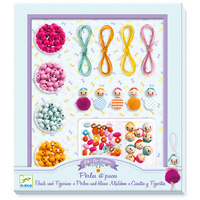 Djeco - Beads & Figurines Jewellery Kit