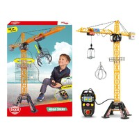 Dickie Toys - Mega Construction Crane with Remote Control 120cm