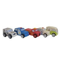 Discoveroo - 5 Car Set