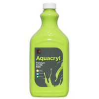 Aquacryl Student Acrylic Paint 2 Litres Light Green