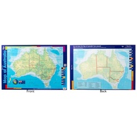 Gillian Miles - Map of Australia Double Sided Chart