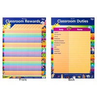Gillian Miles - Classroom Rewards Double Sided Chart