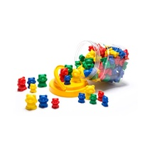 Learning Can Be Fun - Counters Bears (96 pieces)