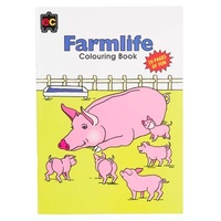 EC - Farmlife Colouring Book