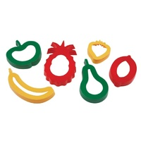 EC - Cookie Cutters Fruit (set of 6)