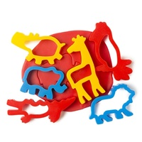 EC - Dough Jungle Animal Cutters (set of 6)