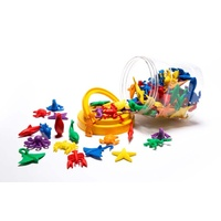 Learning Can Be Fun - Counters Sealife (84 pieces)