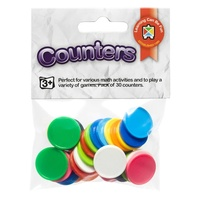 Learning Can Be Fun - Counters 20mm Assorted (30 pack)