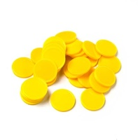 Learning Can Be Fun - Counters Yellow 20mm (30 pack)