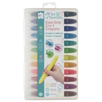 First Creations - Easi-Grip 3 in 1 Crayons (set of 12)
