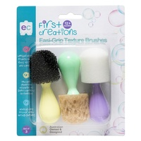 First Creations - Easi-Grip Texture Brushes (set of 3)