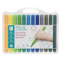 First Creations - Easi-Grip Triangular Markers (24 pack)