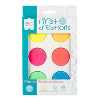 First Creations - Fluoro Watercolours (set of 6)