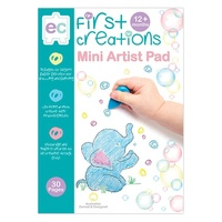 First Creations - Mini Artist Pad A3 (30 pages)
