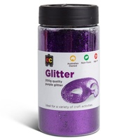 EC - Glitter 200gm Purple