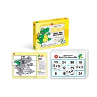 Learning Can Be Fun - Beat the Crocodile Bingo Multiplication