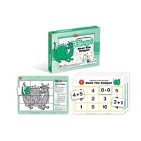 Learning Can Be Fun - Beat The Dragon Bingo - Addition & Subtraction Bingo