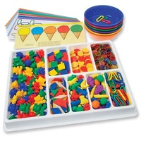 Learning Advantage - Counting And Sorting Kit (650 pieces)