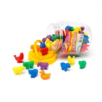 Learning Can Be Fun - Counters Farm Animals (72 pack)