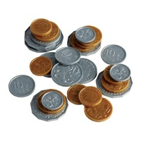 Learning Can Be Fun - Plastic Coins (106 pieces)