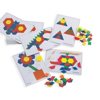 Learning Can Be Fun - Pattern Block Picture Cards