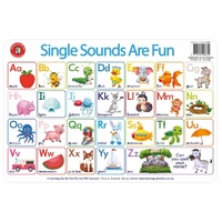 Learning Can Be Fun - Single Sounds Are Fun Placemat