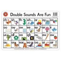 Learning Can Be Fun - Double Sounds Are Fun Placemat