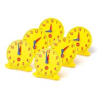EDX - Teach Me Time Student Clocks (set of 6)