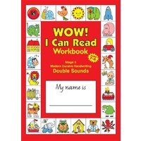 Learning Can Be Fun - Wow! I Can Read Workbook Stage 3 Modern Cursive