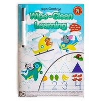Learning Can Be Fun - Wipe-Clean Learning Pen Control