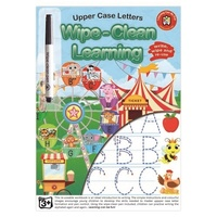 Learning Can Be Fun - Wipe-Clean Learning Upper Case Letters
