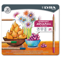 Lyra - Rembrandt Aquarell Watercolor Pencil Set (tin of 24)
