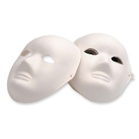 EC - Paper Mache Mask Full (24 pack)