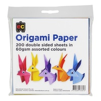 EC - Origami Paper Double Sided (200 pack)