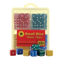 Learning Can Be Fun - Small Dice 16mm (72 pack)