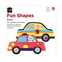 EC - Fun Shapes Cars 24 pieces