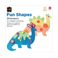 EC - Fun Shapes Dinosaur 24 pieces