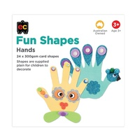 EC - Paper Shapes Hands (24 pieces)