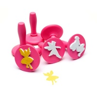 EC - Paint & Dough Stampers Fairy (set of 6)