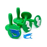 EC - Paint & Dough Stampers Sealife (set of 6)