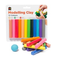 EC - Rainbow Modelling Clay (12 pack)