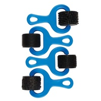 Rubber Pattern Rollers (set of 4)