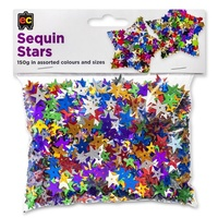 EC - Sequins Assorted Stars