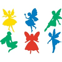 EC - Stencils - Fairy (set of 6)