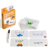 Learning Can Be Fun - Write & Wipe Sight Words Flash Cards with Marker
