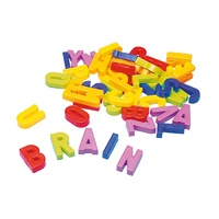 Quercetti - Magnetic Upper-Case Letters 48 Pieces