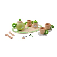 Everearth - Wooden Tea Set