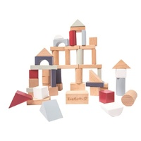 Everearth - Building Blocks Set Pastel 50pc