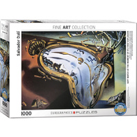 Eurographics - Dali, Soft Watch at the Moment of Its First Explosion Puzzle 1000pc
