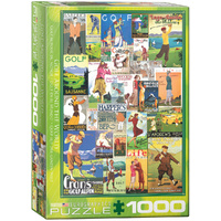 Eurographics - Golf Around the World Puzzle 1000pc